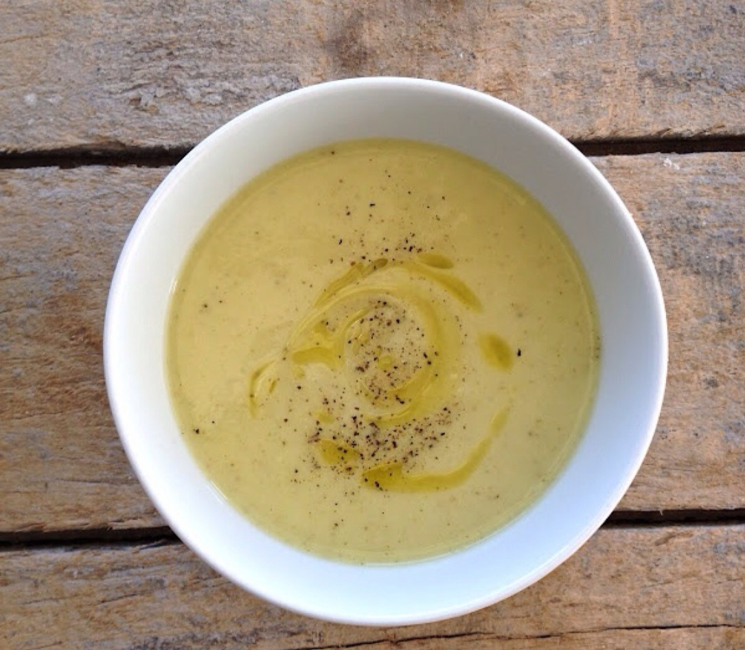 Cocina y nutrición. Receta sopa Vichyssoise