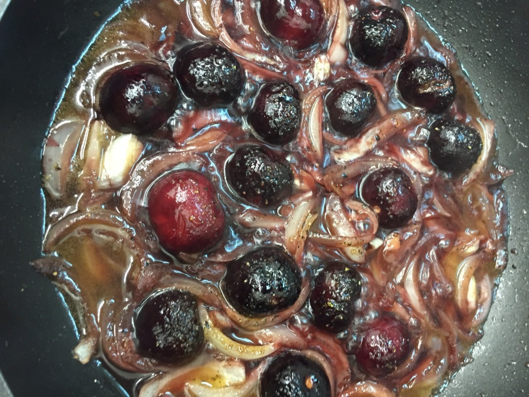 Chutney de cerezas