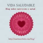 Mi blog Vida Saludable nominado a los Liebster Awards. ¡Gracias!