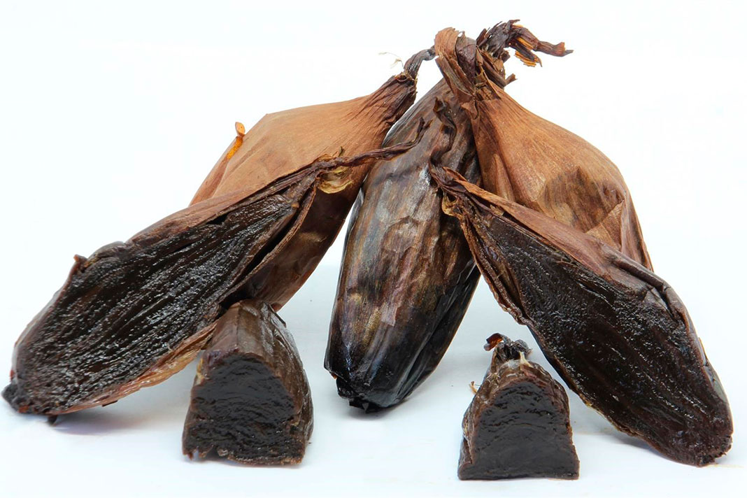 La cebolla negra, un producto gourmet con beneficios para la salud