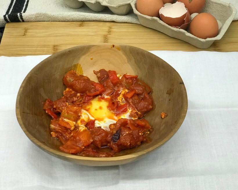 Comidas del mundo: un plato de Israel, Shakshuka