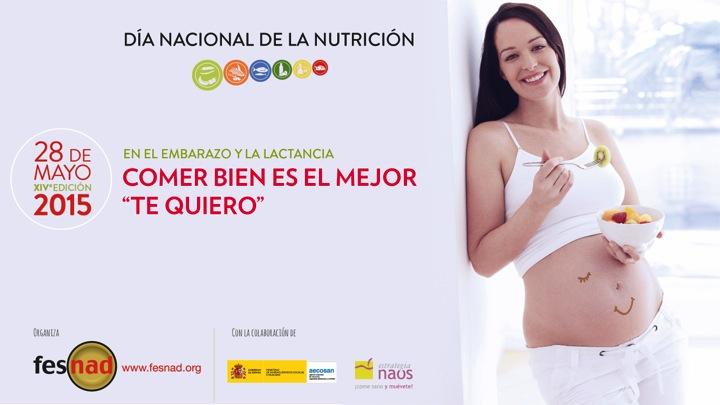 Nutrición en el embarazo y la lactancia.