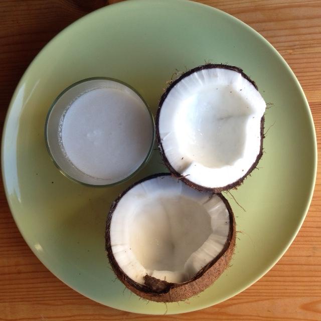 Sí a la leche de coco, pero con moderación