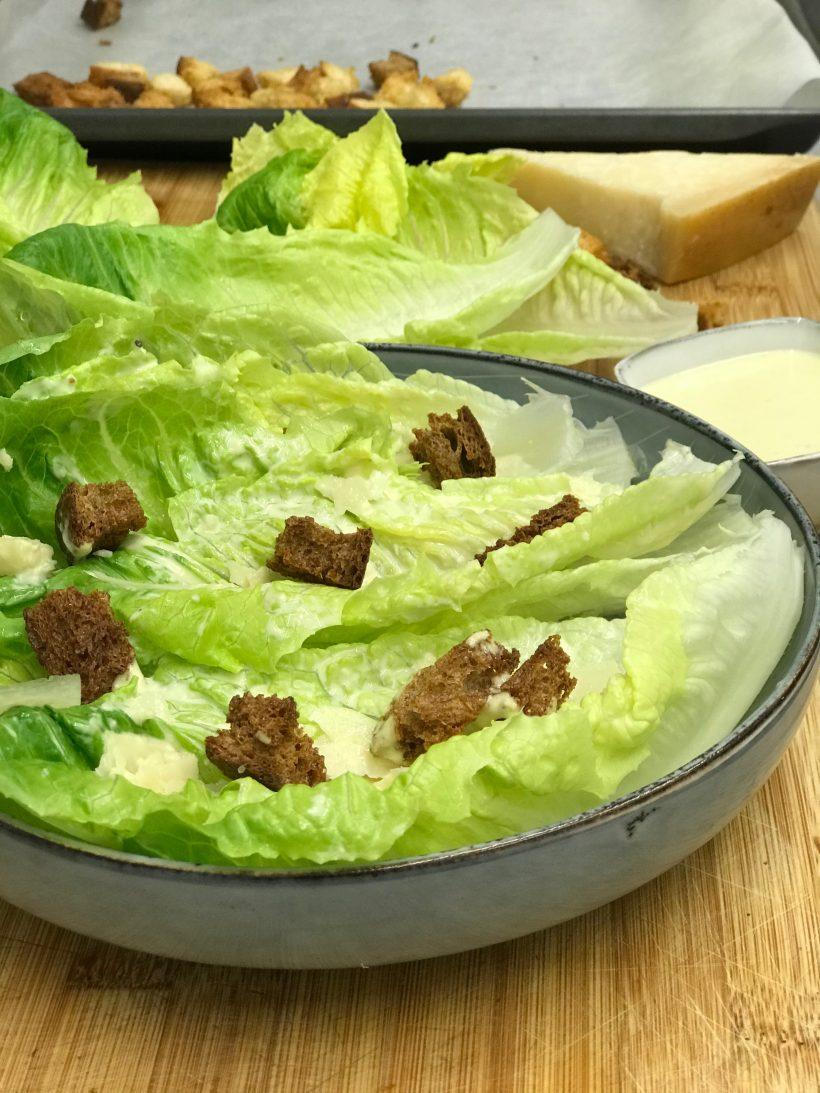 Comidas del mundo: un plato típico de Méjico, ensalada César