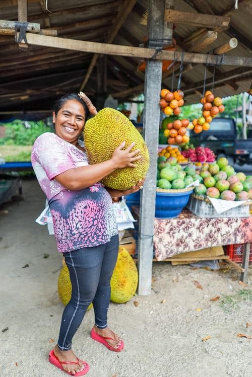 El alimento de moda, se llama jackfruit